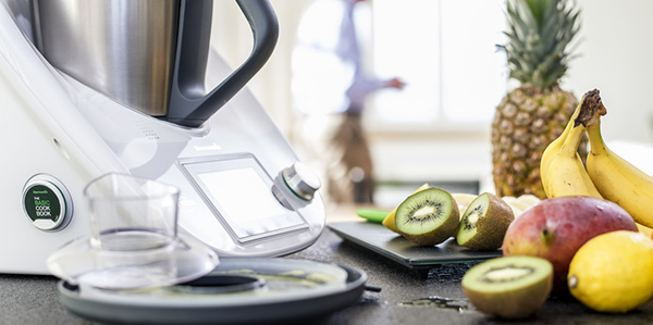 Healthy and Smart cooking with Thermomix