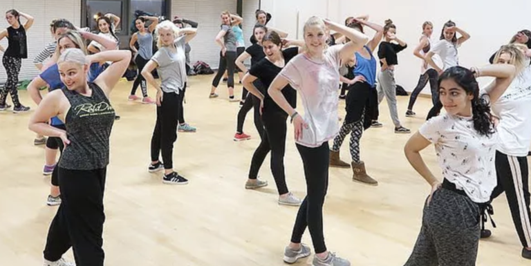 Raw Diva Commercial Dance Class with Jenny