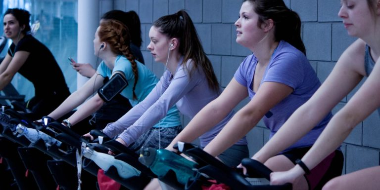 Indoor Beat Cycle Talk with Tracey