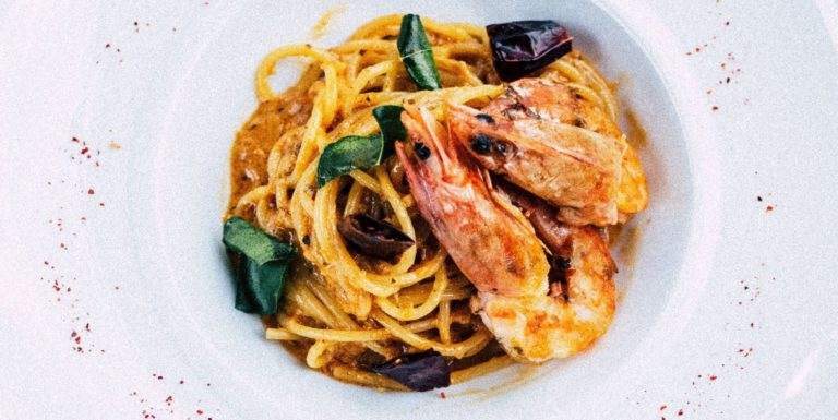 Learn To Make Fresh Pasta: Prawn Tagliatelle with Leah
