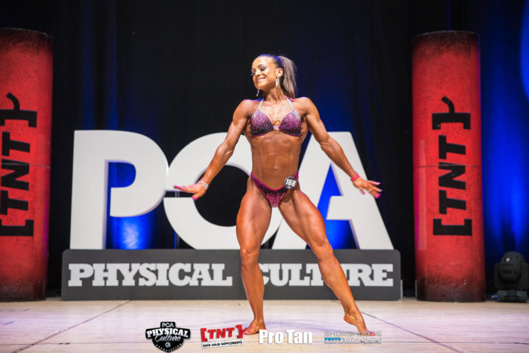 Bodybuilding by Chloe Pickford from Buzz Gym