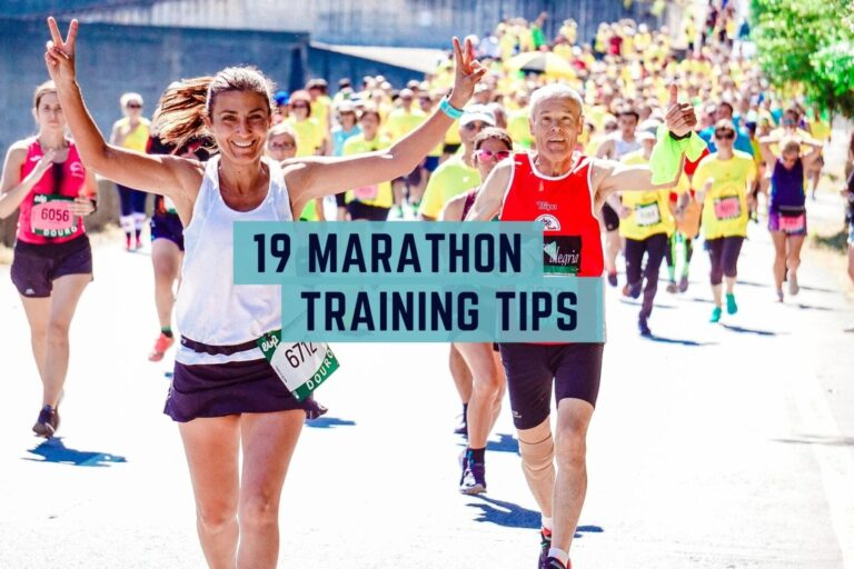 Marathon training tips for beginners